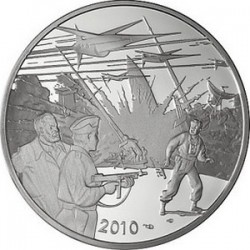 Франция 2010, 10 евро, Blake and Mortimer («Блэйк и Мортимер»)