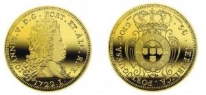 5 евро «Песа 1722 года короля Жуана V»