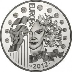 France 2012, 10 euro, Eurocorps