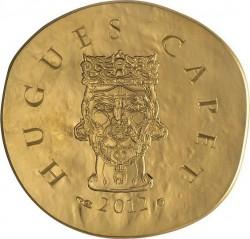 France 2012. 50 euro Hugues Capet