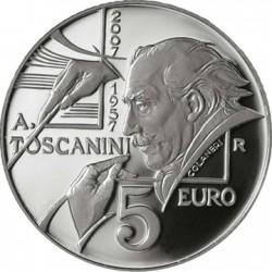 San-Marino 2007. 5 euro Arturo Toscanini
