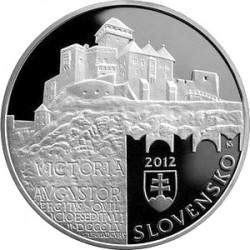 Словакия, 20 евро (Городской заповедник Тренчина)