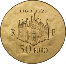 France 2012. 10 euro. Philippe Auguste