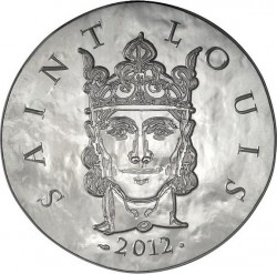 France 2012. 10 euro. Louis IX, Saint Louis