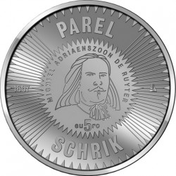 Niderland 2007. 5 euro Michiel de Ruyter