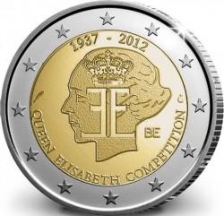 Бельгия, 2 евро (75 лет Конкурсу имени королевы Елизаветы)