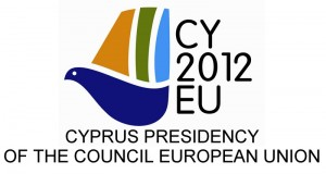 Cyprus presidency of the council European Union logo
