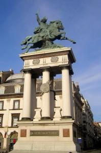 Памятник Верцингеторигу в Клермон-Ферране