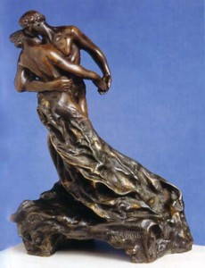 Скульптура «Вальс» («La Valse», бронза, 1889-1905 гг., 43,2x23x34,3 см, Музей Родена)
