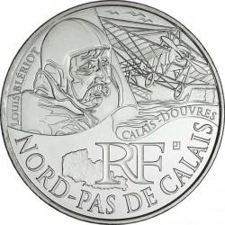 France 2012. 10 euro. NORD-PAS DE CALAIS. Louis Bleriot