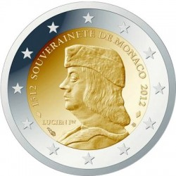 2 euro: The 500th anniversary of the foundation of Monaco's Sovereignty