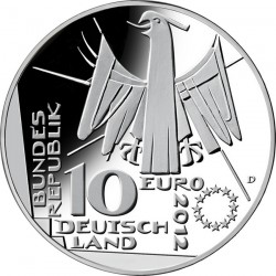 Germany 2012. 10 euro. DEUTSCHE NATIONAL BIBLIOTHEK 100 JAHRE