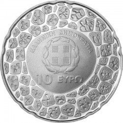 Greece 2012. 10 euro. 50th Anniversary of the Death of Georgios N. Papanicolaou