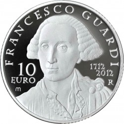 Italy 2012. 10 euro  Francesco Guardi
