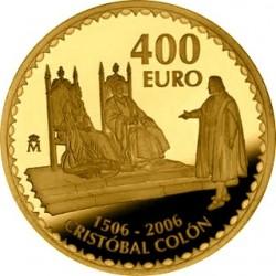 Spain 2006. 400 euro Christopher Columbus 5th Centenary