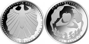 Germany 10 euro 2013 Snow White