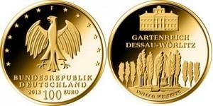 Germany 100 euro 2013 Welterbe Dessau