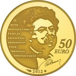 France 2012 10 euro d'Artagnan