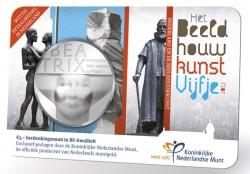 Netherland 2012. 5 euro. sculpture. coincard