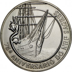 Portugal 2012. 2.5 euro. 75 years of the school ship Sagres