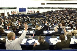 Voting in European Parliament