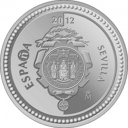 Spain 2012. 5 euro. Sevilla