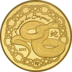 France 2012. 50 euro. serpent
