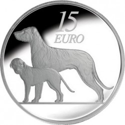 Ireland 2012. 15 euro. Irish Wolfhound