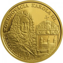 Slovakia 2012. 100 euro. 300th Anniversary of the Coronation of Charles III