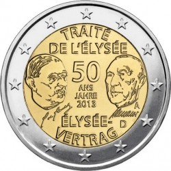 2 euro germany (Elysee)