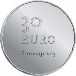 Slovenia 2013. 30 euro. Tolmin peasant revolt, 1713