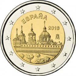 Spain 2013. 2 euro. Escorial