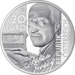 Austria 2013. 20 euro. Stefan Zweig