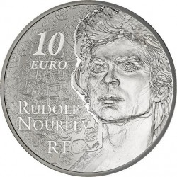 France 2013. 10 euro. Rudolf Noureev