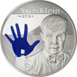 France 2012. 100 euro. Yves Klein