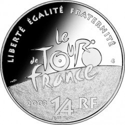 France 2003 0.25 euro Tour-de-France Cyclists av