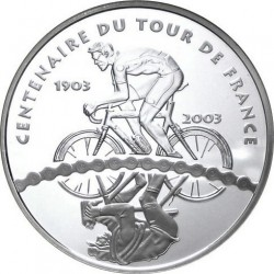 France 2003 1.5 euro Tour-de-France Cyclists rev