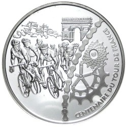 France 2003 1.5 euro Tour-de-France Finis rev