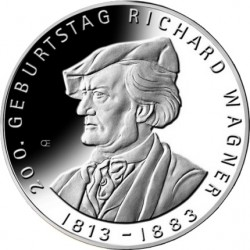 Germany 2013. 10 euro. Richard Wagner