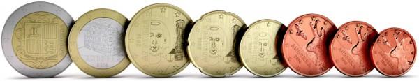 andorra euro coins