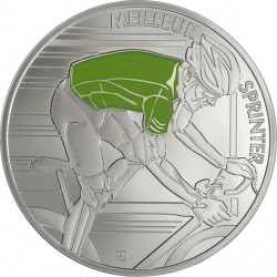 France 2013. 10 euro. Tour de France. vert rev