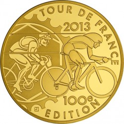 France 2013. 50 euro. Tour de France