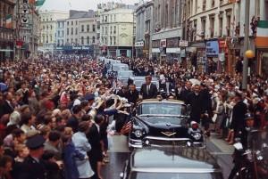 President Kennedy in Ireland