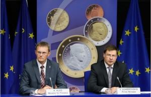 Latvia to Adopt Euro on 1 January 2014