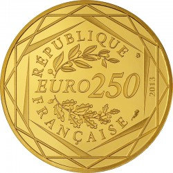 France 2013. 250 euro. Paix