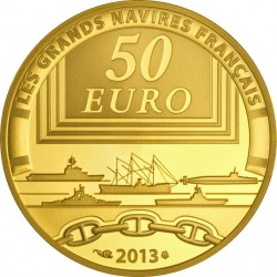 France 2013. 50 euro. La Gloire