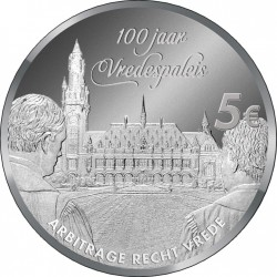 Netherlands 2013. 5 euro. Peace Palace