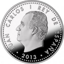 Spain 2013. 10 euro. Isaac Peral Submarine