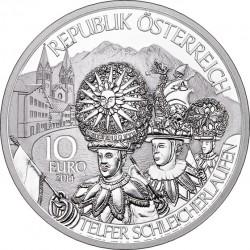 Austria 2014. 10 euro. Tirol (Ag 925)