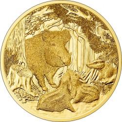 Austria 2014. 100 euro. Wildschwein